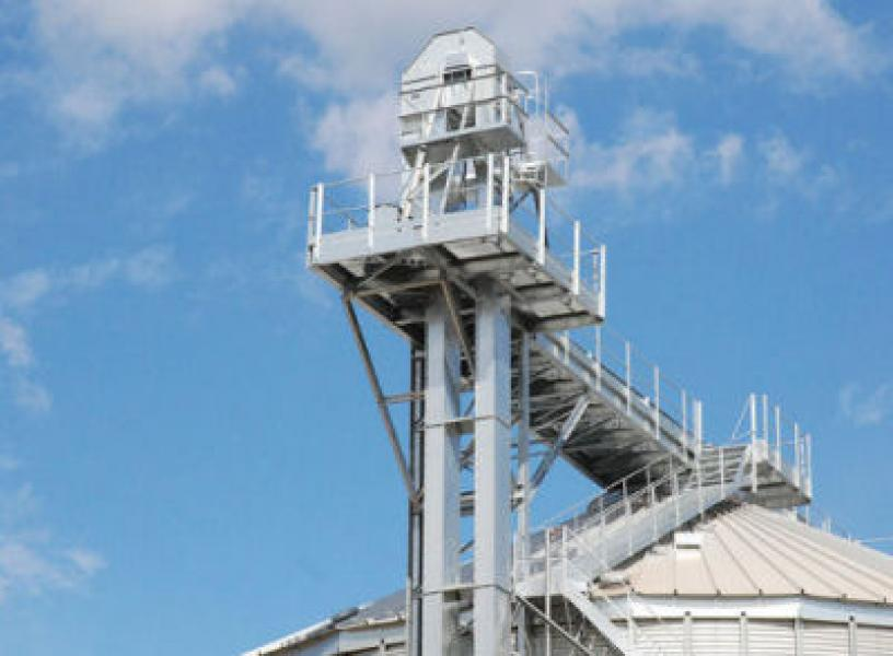 Grain Storage Silo Grain Bin Flat Bottom Grain Storage